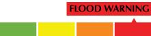 Flood warning level