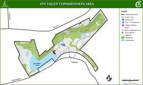 detailed map to Lyn Valley Conservation Area