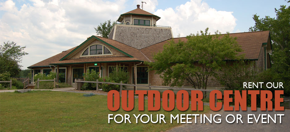 Rent our Outdoor Centre for your meeting or event