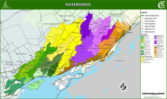 Link to the watershed map
