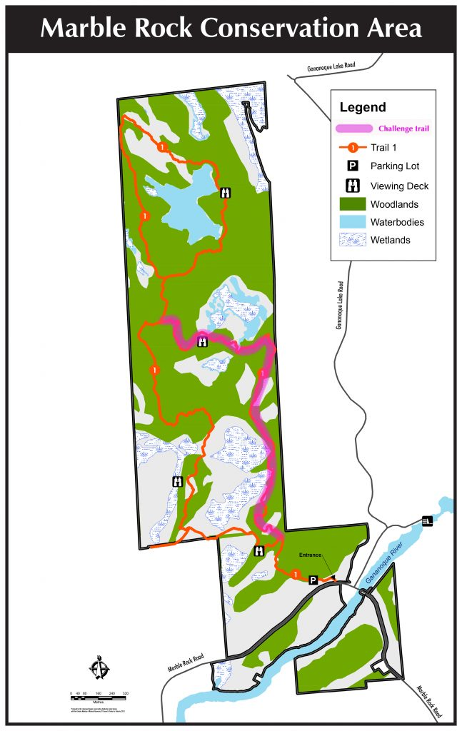 Marble Rock Conservation Area Map