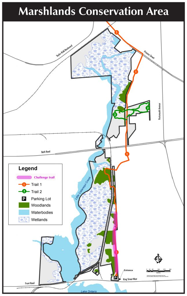 Marshlands Conservation Area Map