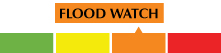 Flood watch level