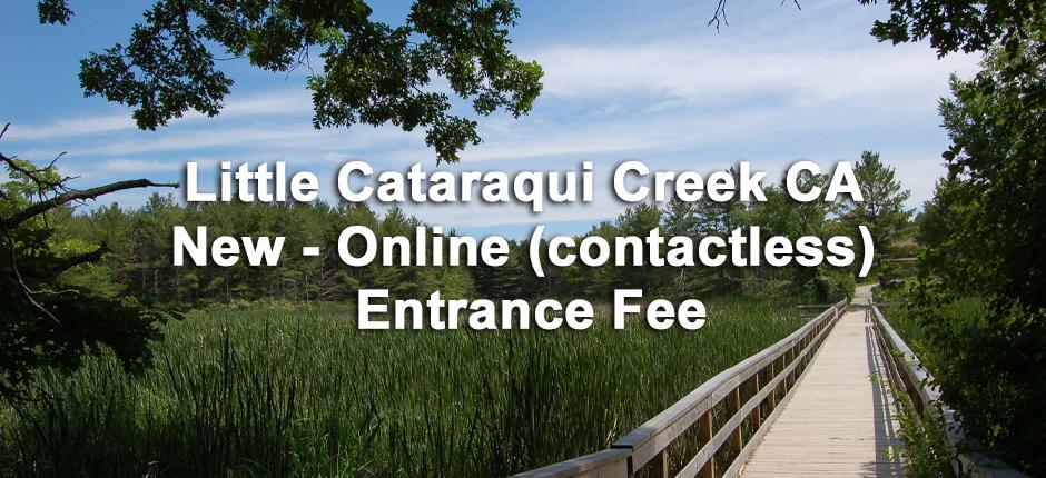 Little Cataraqui Creek, online gate fee (contactless)