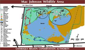 Mac Johnson trail map